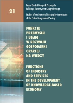 Industry and services in the development of knowledge-based economy