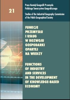 Przemysł i usługi w rozwoju gospodarki opartej na wiedzy